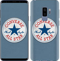 "Чехол на Samsung Galaxy S9 Plus Converse. All star ""3683c-1365-12506"""