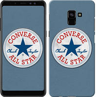 "Чехол на Samsung Galaxy A8 Plus 2018 A730F Converse. All star ""3683u-1345-12506"""