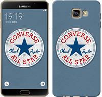 "Чехол на Samsung Galaxy A9 Pro Converse. All star ""3683u-724-12506"""