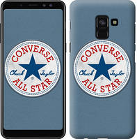 "Чехол на Samsung Galaxy A8 2018 A530F Converse. All star ""3683u-1344-12506"""