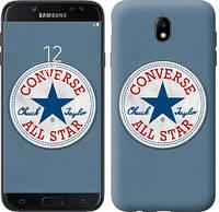 "Чехол на Samsung Galaxy J7 J730 (2017) Converse. All star ""3683c-786-12506"""