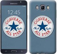 "Чехол на Samsung Galaxy J7 (2016) J710F Converse. All star ""3683c-263-12506"""