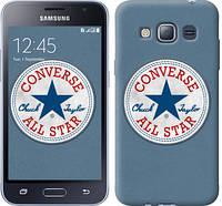 """Чехол на Samsung Galaxy J1 (2016) Duos J120H Converse. All star """"3683c-262-12506"""""""