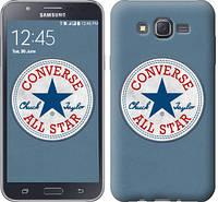 """Чехол на Samsung Galaxy J7 J700H Converse. All star """"3683c-101-12506"""""""