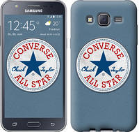 "Чехол на Samsung Galaxy J5 (2015) J500H Converse. All star ""3683c-100-12506"""