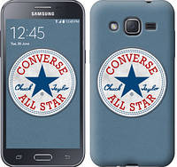 "Чехол на Samsung Galaxy J2 J200H Converse. All star ""3683c-190-12506"""