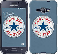 "Чехол на Samsung Galaxy J1 Ace J110H Converse. All star ""3683c-215-12506"""