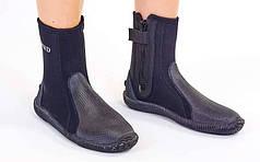 Ботинки для дайвинга LEGEND PL-DNS08 (5мм неопрен, резина, размер L-EU-40-45, RUS-40-44, черный)