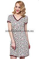Жіноча сорочка ELLEN Бордо закриті плечики 193 001 c51ddfff6bf1e