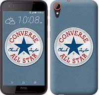 "Чехол на HTC Desire 830 Converse. All star ""3683c-785-12506"""