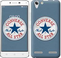 "Чехол на Lenovo K5 Plus Converse. All star ""3683c-278-12506"""