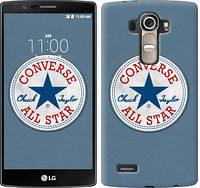 "Чехол на LG G4 H815 Converse. All star ""3683u-118-12506"""
