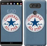 "Чехол на LG V20 Converse. All star ""3683c-787-12506"""