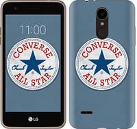 """Чехол на LG K7 2017 X230 Converse. All star """"3683u-1469-12506"""""""