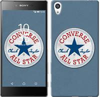 "Чехол на Sony Xperia Z5 Premium Converse. All star ""3683c-345-12506"""