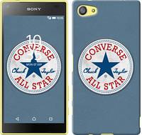 "Чехол на Sony Xperia Z5 Compact E5823 Converse. All star ""3683c-322-12506"""
