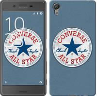 """Чехол на Sony Xperia X Converse. All star """"3683c-446-12506"""""""
