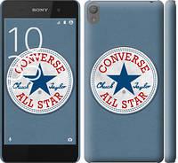 "Чехол на Sony Xperia E5 Converse. All star ""3683c-458-12506"""
