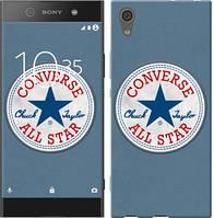 "Чехол на Sony Xperia XA1 Converse. All star ""3683c-964-12506"""
