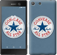 "Чехол на Sony Xperia M5 Converse. All star ""3683c-217-12506"""