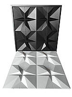 "Форма для 3D панелей ""Футуризм"" 500*500 мм"