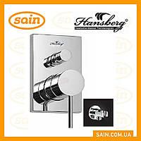 Смеситель Hansberg PL ST-24-A RAIN (встраиваемый душ набор)
