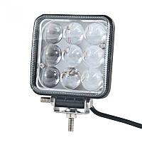 LED фара дополнительная BELAUTO 1800Лм (узкий луч), BOL0903L, фото 1
