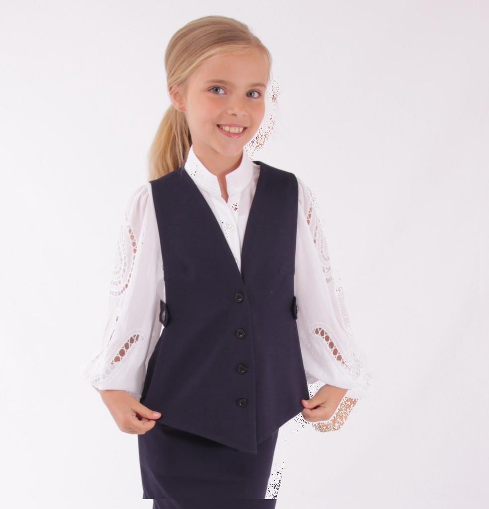 Детский школьный костюм от Bear Richi  для девочки 561481,  128-158