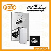 Смеситель Hansberg PL ST-24-B RAIN (встраиваемый душ набор)