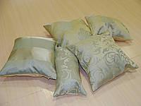 Комплект подушек Завитки мята, 5шт, фото 1