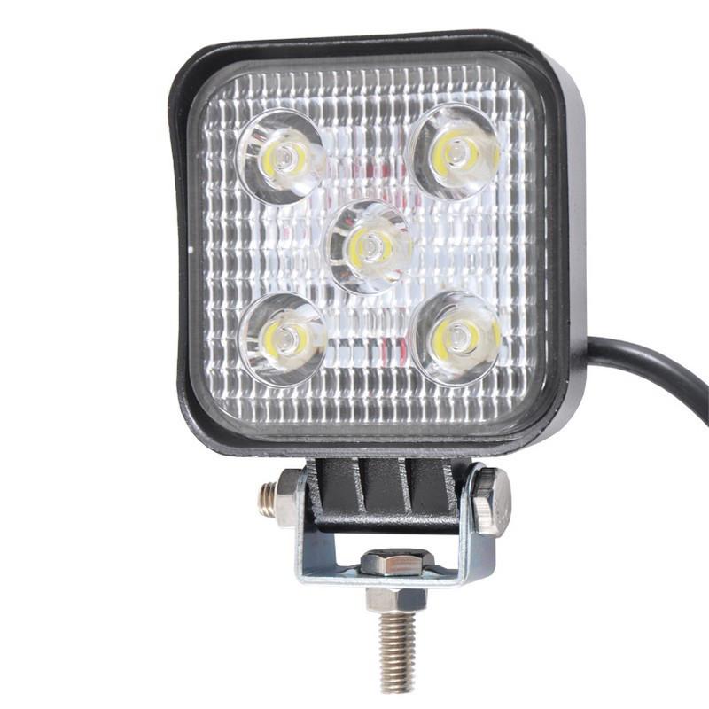 LED фара дополнительная BELAUTO 1000Лм (узкий луч), BOL0513 Spot