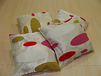 Комплект подушек Овалы, 4шт 30х30см