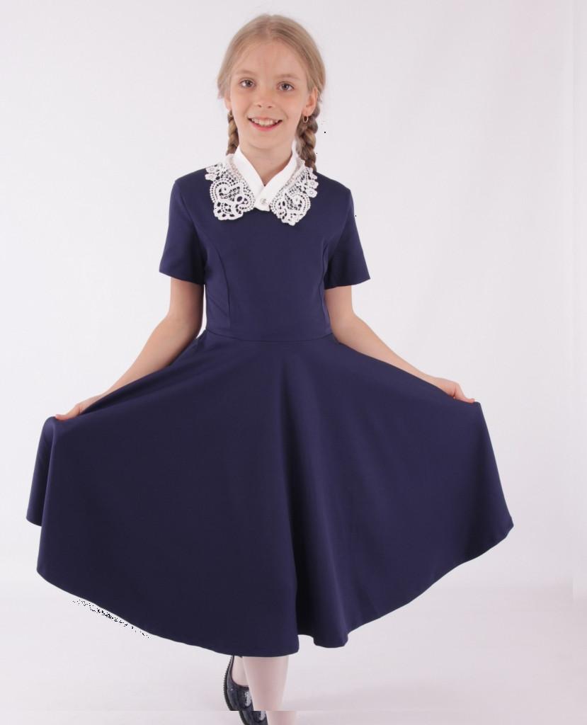 Детское школьное платье от Bear Richi  для девочки 561542,  146-170
