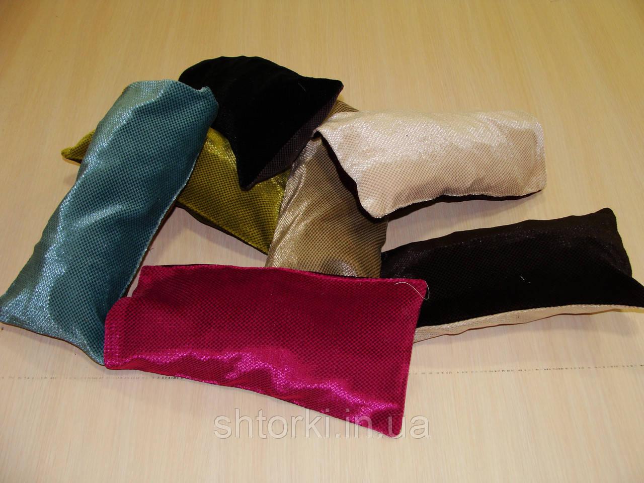 Комплект подушечек бархатные разноцветные, 7шт
