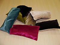 Комплект подушечек бархатные разноцветные, 7шт, фото 1