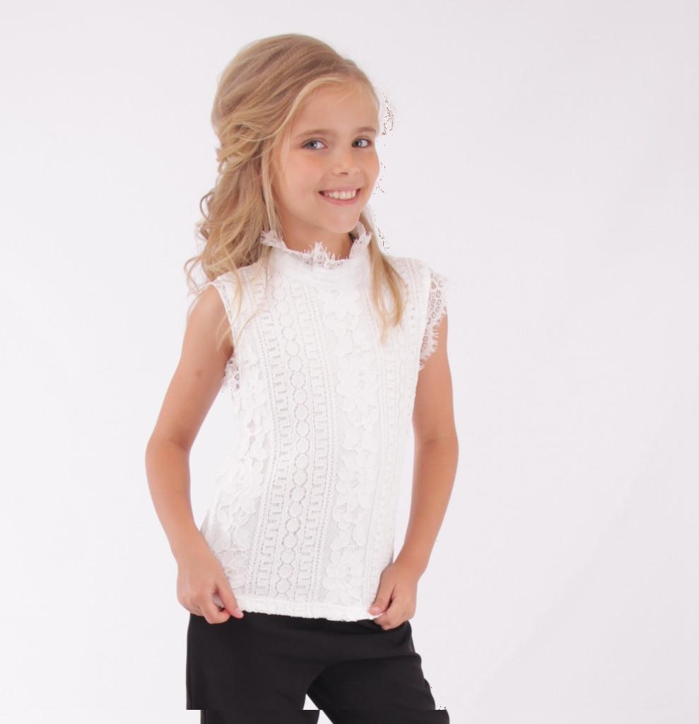 Детская школьная блуза от Bear Richi  для девочки 561558,  128-158