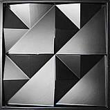 """Форма для 3D панелей """"Орігамі"""" 500*500 мм, фото 2"""