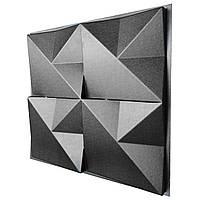 "Форма для 3D панелей ""Оригами"" 500*500 мм, фото 1"