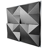"Форма для 3D панелей ""Оригами"" 500*500 мм"