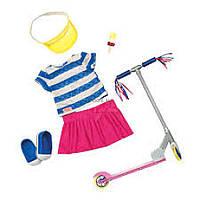 Аксессуар к кукле Our Generation Deluxe с самокатом и аксесуарами (BD30200Z)
