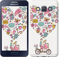 "Чехол на Samsung Galaxy A3 A300H Любовь v3 ""3568c-72-12506"""