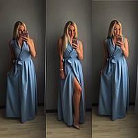 Женское платье в пол #282 в расцветках, фото 1