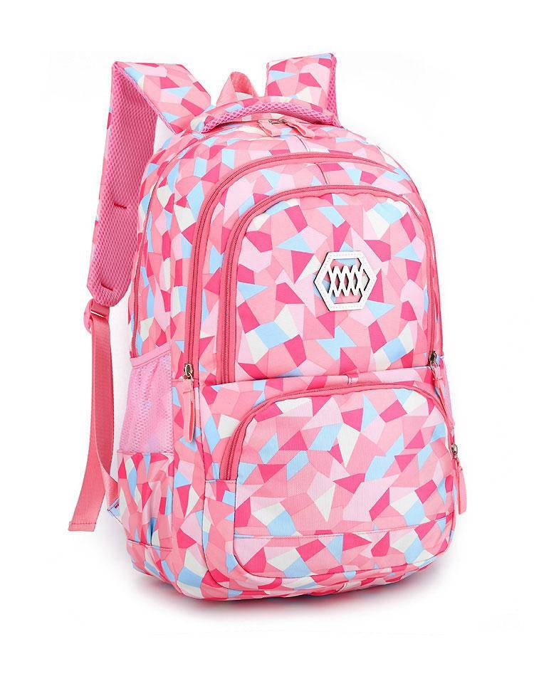"""Школьный рюкзак для девушек """"Crystal triangles"""" (4-12 класс)"""