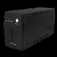 ИБП линейно-интерактивный LogicPower 500VA-P, 2 розетки, 5 ступ. AVR, 7.5Ач12В