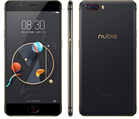 "Черный ZTE Nubia M2 black / 4/64 Gb 5.5"" (1920x1080) Snapdragon 625 / 64Гб / 13Мп / 3630мАч"