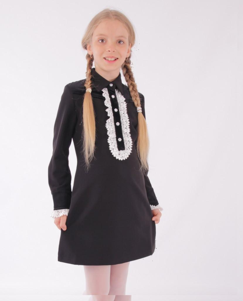 Детское школьное платье от Bear Richi  для девочки 782421,  140-164