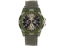 Мужские кварцевые часы Swiss Army  Зеленый