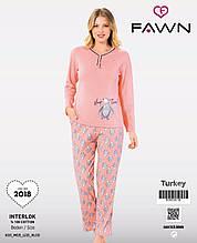 Пижама молодёжная интерлок, Fawn