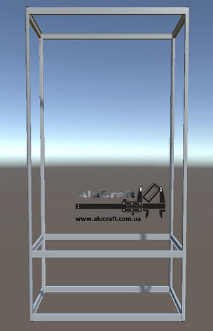 Стеллажи витрины   Конструктор из торговых профилей М-19, фото 2