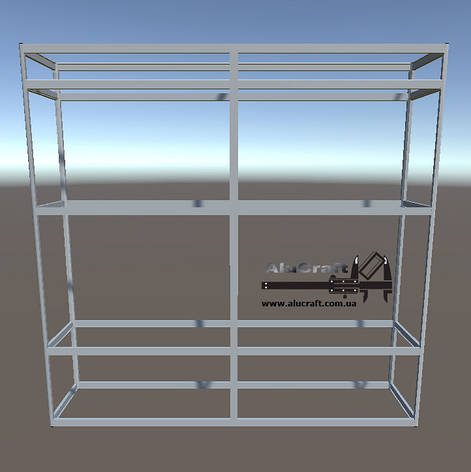 Торговая мебель | Конструктор из торговых профилей М-29, фото 2